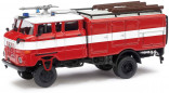 BUSCH 95121 Hasičské auto IFA W50 LA TLF 16 1:87