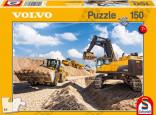 Schmidt Puzzle VOLVO stavební stroje 150 dílků