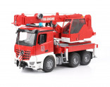 Autojeřáb MERCEDES BENZ AROCS hasiči BRUDER 03675