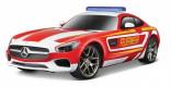 MAISTO RC MERCEDES BENZ AMG GT hasiči 40 Mhz 1:24