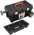 Box na nářadí plastový pojízdný Wheelbox Stuff Alu Basic 26
