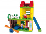 PlayBig BLOXX Peppa Pig domeček a hřiště