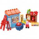 PlayBig BLOXX Peppa Pig smíšený obchod