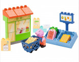 PlayBig BLOXX Peppa Pig obchod zelenina