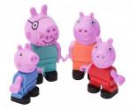 PlayBig BLOXX Peppa Pig rodina