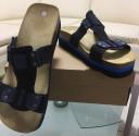 Obuv pracovní sandál LA PALMA JANA modrý/černý