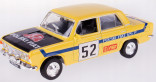 DAFFI B-206 Auto Fiat 125p RALLY 1:43