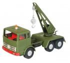 Autojeřáb MB vojenský zelený KOVAP 0664