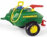 Cisterna se stříkačkou ROLLY VACUMAX za šlapací traktory ROLLY TOYS