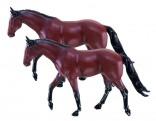 SIKU 2491 Koně figurky sada 2 ks 1:32