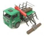 Nákladní auto MAN LKW s rukou na dřevo BRUDER 02769