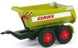 Návěs traktorový sklápěcí CLAAS za šlapací traktory ROLLY TOYS