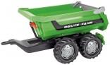 Návěs traktorový sklápěcí DEUTZ FAHR za šlapací traktory ROLLY TOYS