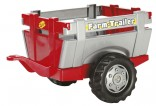Návěs FARM TRAILER za šlapací traktory ROLLY TOYS červený