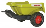 Návěs sklopný KIPPER II CLAAS za šlapací traktory ROLLY TOYS zelený