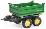 Návěs sklopný MEGA JOHN DEERE za šlapací traktory ROLLY TOYS