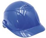 Ochranná helma UVEX s kšiltem modrá
