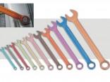 Sada očkoplochých barevných multiprofilových klíčů GX CHEV-011 11 dílů