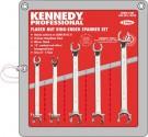 Sada očkových klíčů 8 - 17 mm KENNEDY 5 dílná