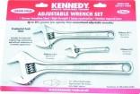 Sada stavitelných klíčů KENNEDY 3 dílná