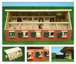 Stáj pro koníky 9 boxů KIDS GLOBE FARMING