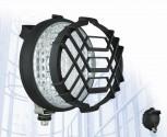 Světlomet pracovní 12/24V/H3 kulatý s mřížkou