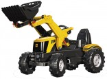 Traktor šlapací JCB 8250 s čelním nakladačem ROLLY TOYS