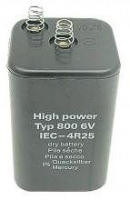 Baterie GRANIT 4R25/6V kryptonová