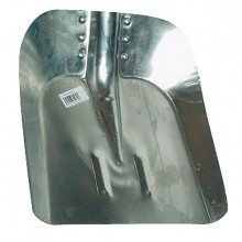 Lopata hliníková velká šířka 34 cm bez násady