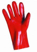 Rukavice pracovní REDSTART PVC červené