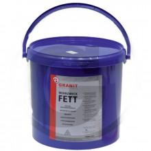 Plastické mazivo GRANIT FETT lithium 5 kg +120°C žlutá