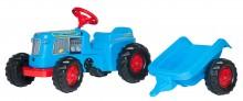 Traktor šlapací CLASSIC TRAC s návěsem ROLLY TOYS