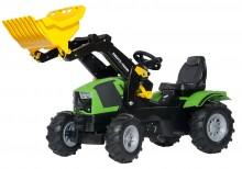 Traktor šlapací DEUTZ FAHR 5120 s čelním nakladačem ROLLY TOYS