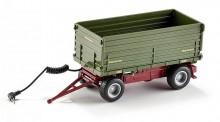 SIKU 6781 Přívěs traktorový FORTUNA 2 stranný sklápěč 1:32