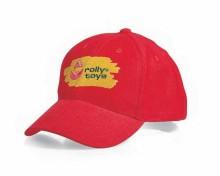 Čepice kšiltovka dětská ROLLY TOYS červená