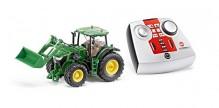 SIKU 6777 Traktor JOHN DEERE 7R s čelním nakladačem H 480 na dálkové ovládání 1:32