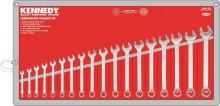 Sada očkových klíčů 6 - 24 mm KENNEDY 18 dílná
