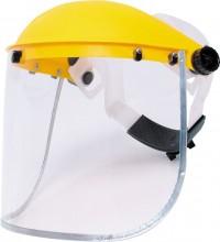 Ochranný štít SITESAFE GALAXY zorník plexisklo, žlutý
