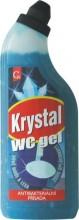 Mycí prostředek KRYSTAL WC GEL modrý 750 ml