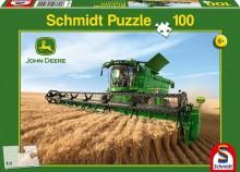 Puzzle Sklízecí mlátička JOHN DEERE S690 100 ks