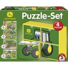 Puzzle JOHNYHO farma SET 2 x 26 dílů, 2 x 48 dílů