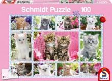 Puzzle Koťátka 100 dílů