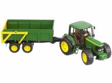 Traktor JOHN DEERE 6920 se sklopným návěsem