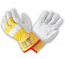 Rukavice pracovní GoodPRO žluté