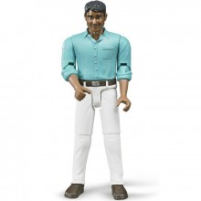 Figurka muž a bílé kalhoty BRUDER WORLD
