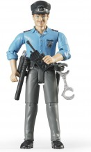 Figurka muž policista BRUDER WORLD