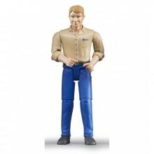 Figurka muž blond BRUDER WORLD