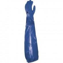 Rukavice pracovní DELTA PETRO VE766 PVC modré