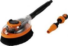 Kartáč rotační mycí s ventilem a výměnnou koncovkou GF