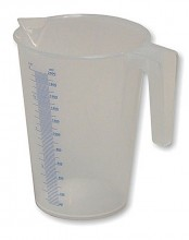 Odměrka plastová 0,25 L
